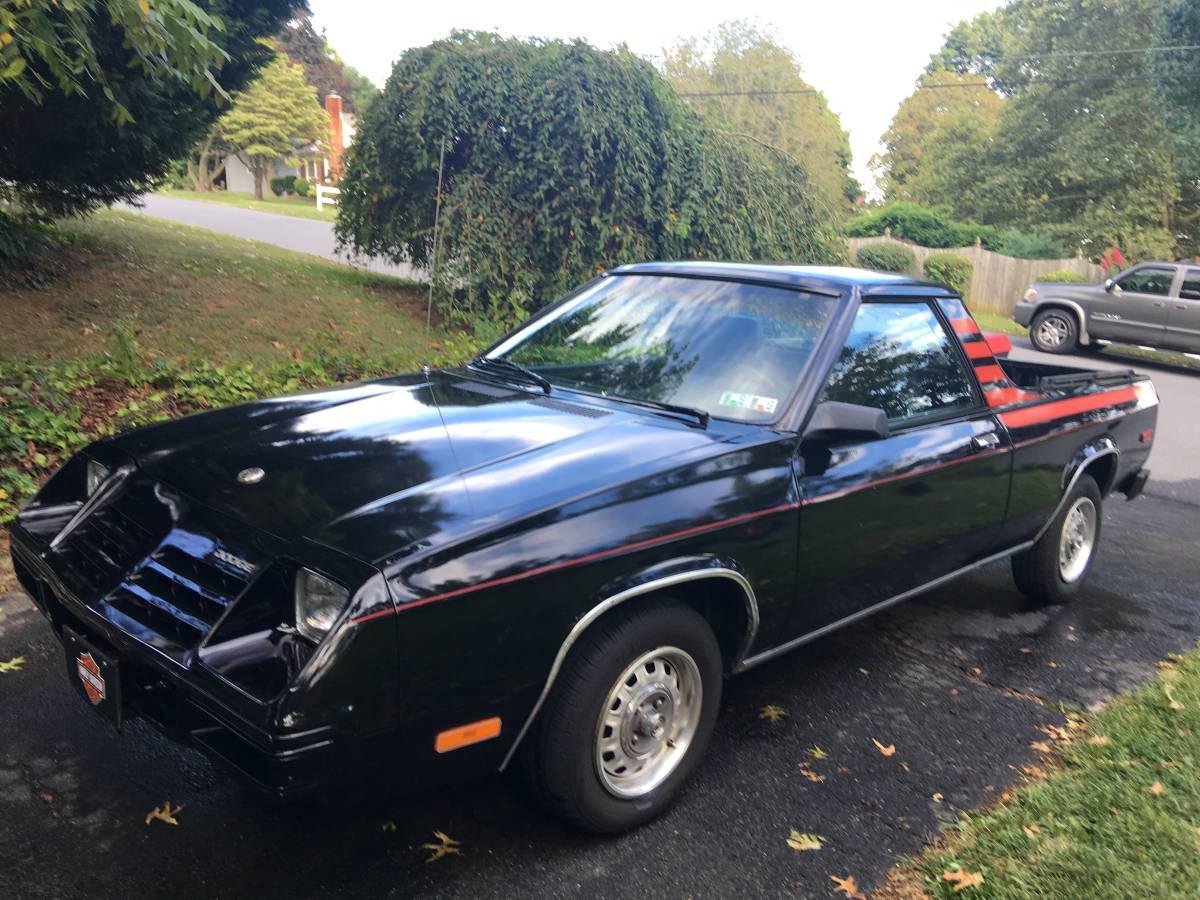 Craiglist Phoenix Az >> 1982 Dodge Rampage Automatic For Sale in Lancaster, Pennsylvania