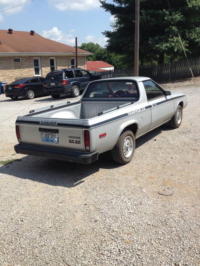 Winchester (KY) United States  city photo : 1983 Dodge Rampage Automatic For Sale in Winchester, Kentucky