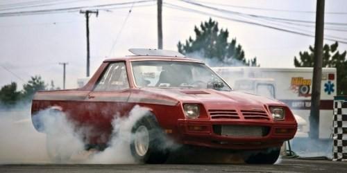 Dodge Rampage Burnout