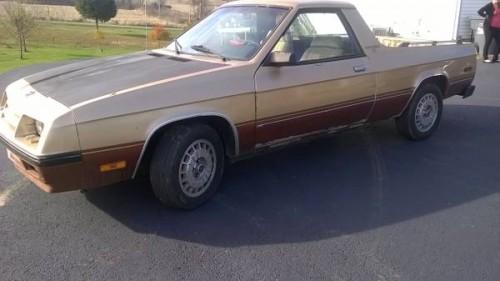 1984 Dodge Rampage Auto For Sale In Brandenburg Kentucky