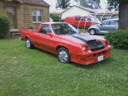 1984 Dodge Rampage Automatic For Sale In Sparta Tennessee